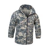 Тактическая холодная напольная куртка одежды кожи