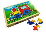 Casse-tête en bois 4 dans 1 cadre de puzzle