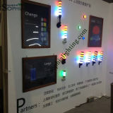 Indicatore luminoso modulare della torretta Tl70 udibile in registrabile con il cicalino ed il multi colore