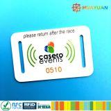 イベントの祝祭RFID NFC NTAG215のNTAG213によって編まれるリスト・ストラップ