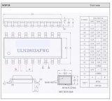 Darlingtontransistor 8진법 고전압 높은 현재 배열 전자 부품