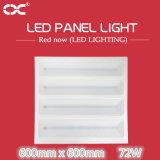 потолочное освещение освещения панели СИД 72W 600X600mm квадратное
