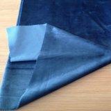 Ebene färbte Trikot gestricktes Samt-Gewebe mit T-/Cschutzträger für Sofa, Vorhang, Polsterung