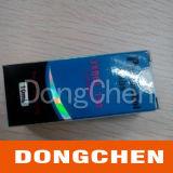 Etiket Van uitstekende kwaliteit van het Flesje van het Glas van de Douane 100ml van de Prijs van de fabriek het Amber