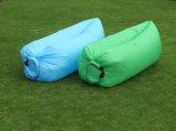 Saco de ar de dobramento da base do Sofa/inflável material de nylon do saco de sono 210t para a HOME, praia (C325)
