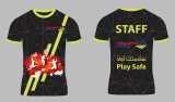 Gymnastik-Hemd-Polyesterspandex-Sport-Hemden Soem-Quicky trockene für Männer