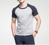 T-shirt 100% de l'impression des femmes de coton de coutume