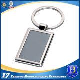 Изготовленный на заказ сплав Keychain с вставкой этикеты печатание (Ele-K056)