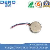 Motor de vibração liso da moeda do motor do relógio do telefone da tecla da C.C. 3V 1020 micro
