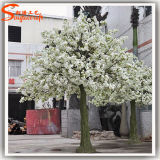Árvores de cereja brancas artificiais da decoração do casamento
