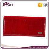 Faniの販売のための赤い本革のクレジットカードの財布