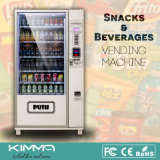 Nuts Chips Lollies Workplace Vending Machine Soporte Digital Pago