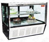 편리한 상점에 있는 탁상용 케이크 전시 냉각기 냉장고