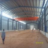 Estructura de acero prefabricada del palmo grande para el almacén y el taller