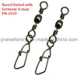 Sea Fishing Rig Brass Barrel Swivel with Germany a Snap