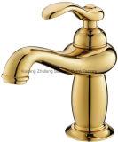 Escolhir o Faucet mágico de bronze do misturador da bacia da lâmpada do ouro luxuoso do punho