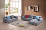 Sofá casero superventas de la tela de la sala de estar de los muebles con la esquina (HC577)