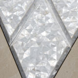 Frischwassershell-Raute-Mosaik-Fliese