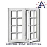 AluminiumMorden Entwurfs-heißes Verkaufs-Standardgrößen-Flügelfenster-Fenster