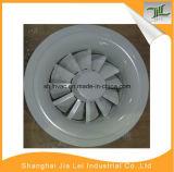 Renvoi rond en aluminium de circulaire de produit de marque de qualité et diffuseur d'air d'approvisionnement