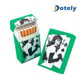 Funda del rectángulo del cigarrillo del bolsillo de la historieta de la caja del nuevo silicón de la manera que fuma