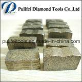 샌드위치 유형 다중 층 화강암 대리석 다이아몬드 절단 세그먼트