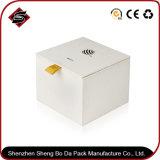 Подгонянная коробка подарка прямоугольника логоса упаковывая бумажная