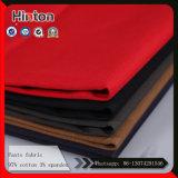 Multi Colors 97% Coton 3% Spandex 235GSM Pantalon Tissu