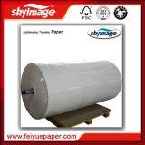 крен бумаги переноса сублимации Jumbo крена 57GSM 1.6m (63inch) Anti-Curl