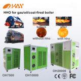 Hidrogênio Home da potência de Hho do hidrogênio dos sistemas de aquecimento da caldeira como o combustível
