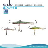 Le pêcheur choisissent l'appât bâtissant de coulage de vairon de 4cm avec Vmc les crochets triples (SJL130140)