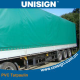 좋은 품질 PVC는 트럭 덮개를 위한 방수포를 입혔다