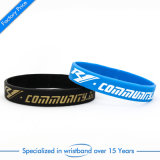 Wristband molle del silicone dello smalto del regalo promozionale