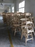 현대 나무로 되는 의자를 식사하는 직물에 의하여 덮개를 씌우는 CH33