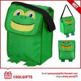 Cute Kids Insulated Animal Cooler Mochila com padrão de desenho animado