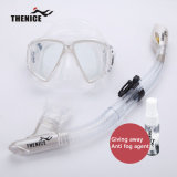 Mascherina di immersione subacquea di Thenice e tubo di respirazione