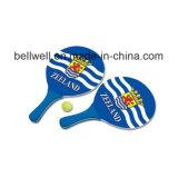 Raqueta de tenis de madera de los regalos promocionales para los deportes de la playa
