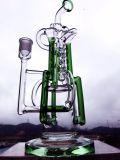 """Fabrik bunte 14 Hebei-Hbking """" drei Recycler-rauchendes Wasser-Glasrohr"""