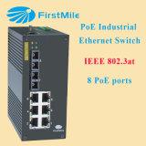 Identificazione industriale ottica gestita P508 dell'interruttore di Poe della fibra