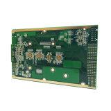 PWB del prototipo de 8 capas de componentes electrónicos