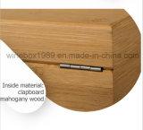 Respetuoso del medio ambiente MDF de bambú carbonizado de caoba caja de cigarros regalo