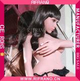 158cm grosses Brust TPE-Silikon-realistische Geschlechts-Puppe mit Skeleton Liebes-Puppe für Mann
