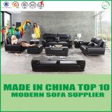 Sofà di cuoio sezionale di Miami della mobilia domestica di svago