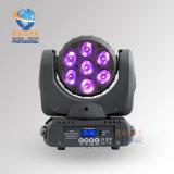 工場価格の高品質の段階LEDの段階の移動軽いイベント党90-240Vのための7LEDsの移動ヘッドビームライト