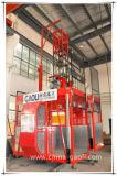 Doppi elevatore della costruzione delle baracche di Gaoli/elevatore Sc100/100