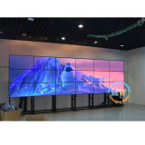 Schermo di visualizzazione della parete dell'affissione a cristalli liquidi dell'incastronatura stretta da 55 pollici video con il regolatore