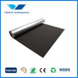 Espuma aislador excelente de EVA con el Underlayment del papel de aluminio del oro