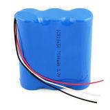 11.1V IonenBatterij 18650 van het Lithium van het Pak van de Batterij van het lithium Pak van de Batterij van Li het Ionen