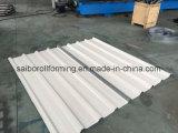 Rodillo del azulejo del panel del material para techos que forma la máquina