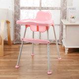 椅子を食事している赤ん坊のためのプラスチック型か型